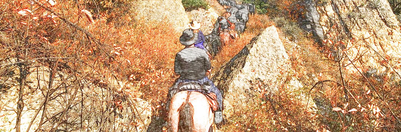 Chris on horse